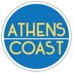 athens coast logo on footer