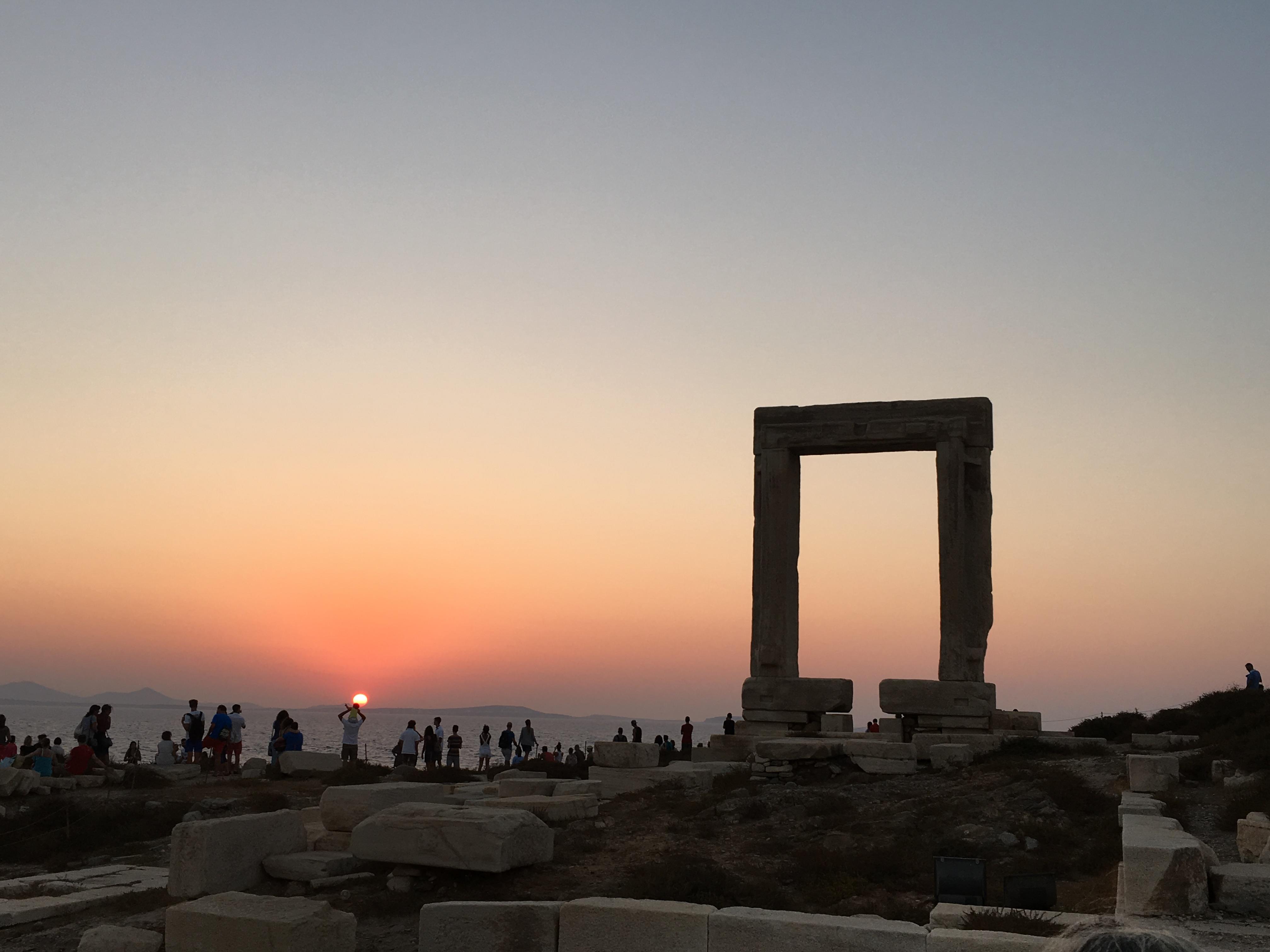 Apollos Gate Naxos