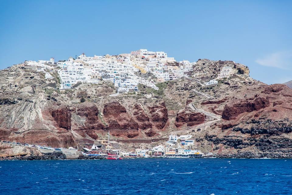 Santorini Blue Star