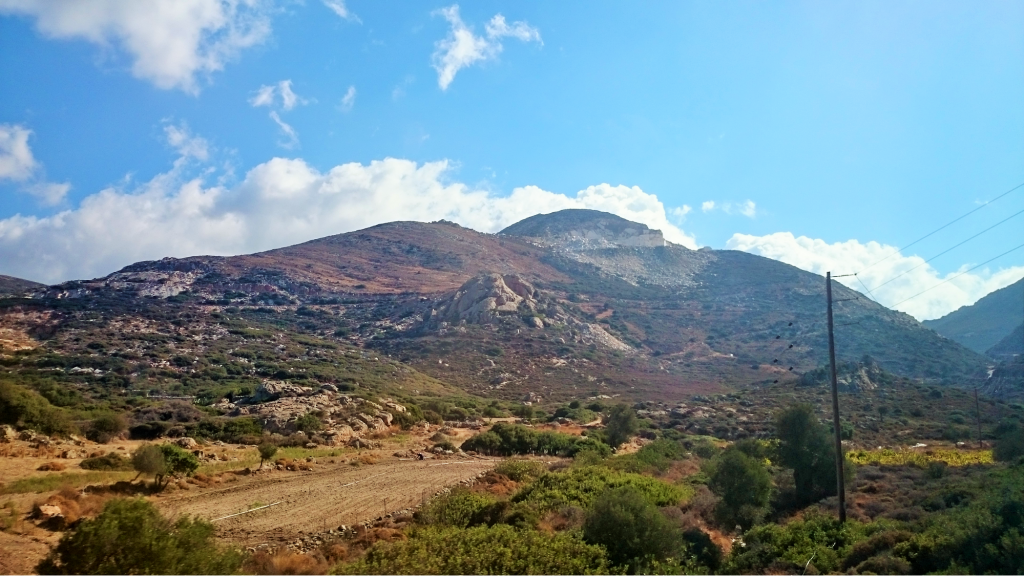 Naxos Mountains
