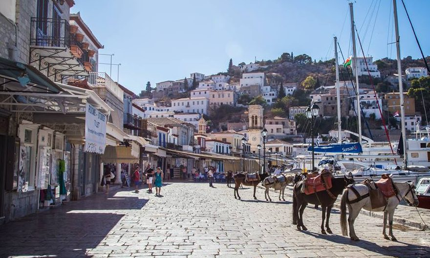 Hydra Donkeys Greece