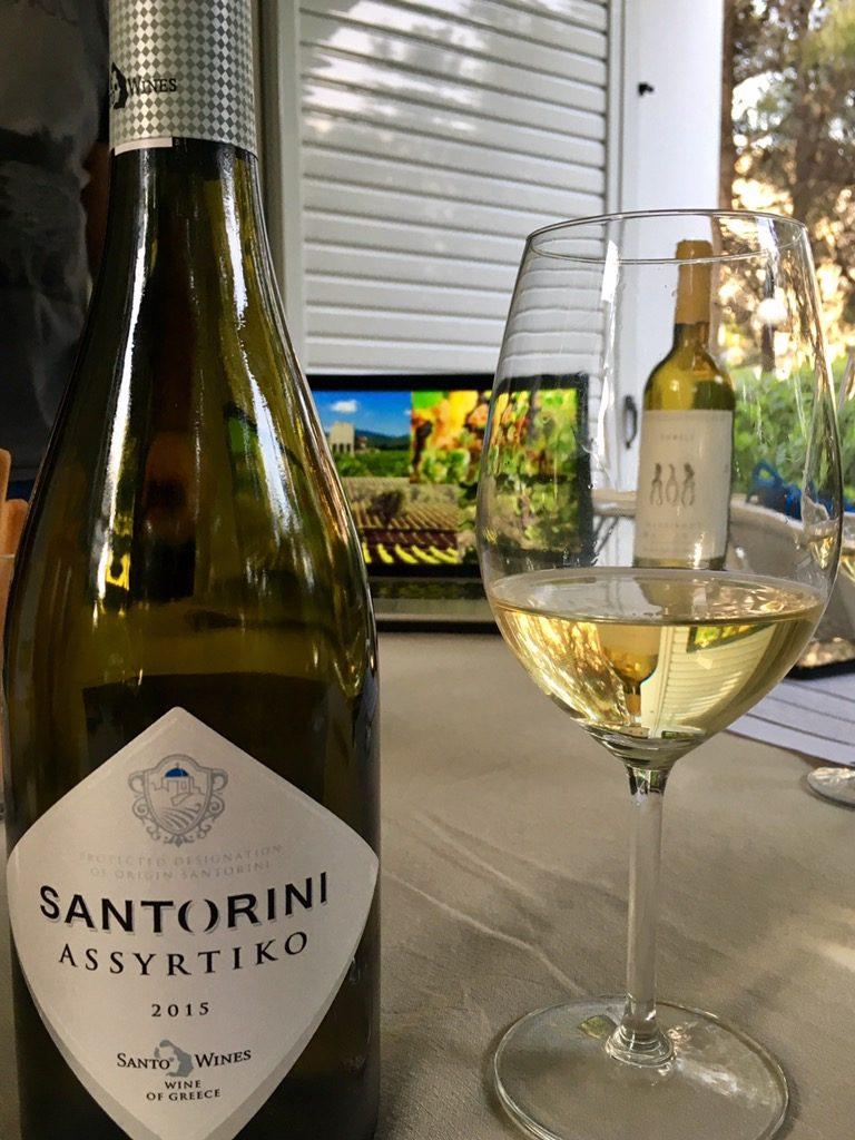 Santorini White Wine | Greece2Taste Wine Tasting