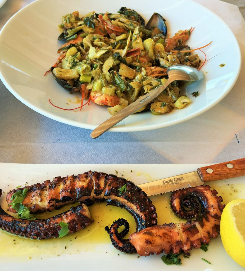 Seafood Kodylenia Taverna Kamini Hydra