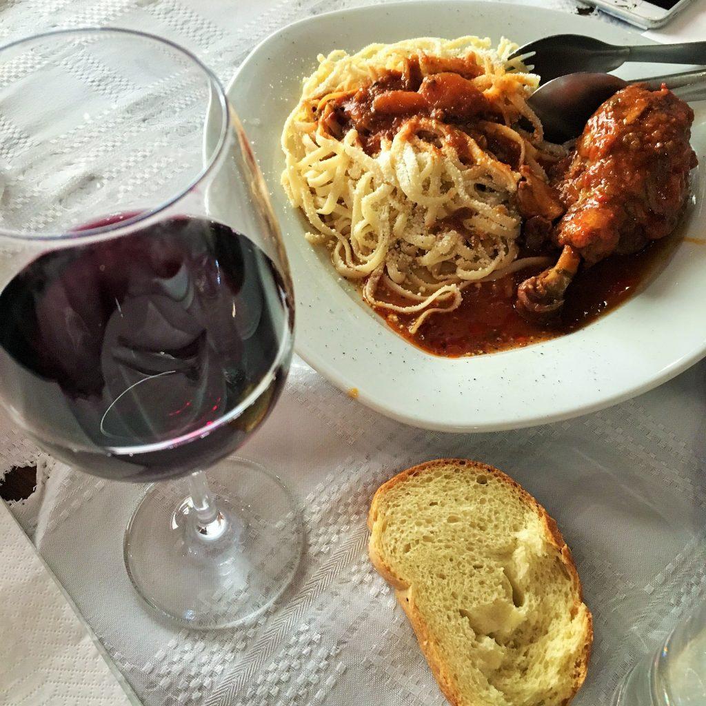 Sofos Georgios Restaurant Nemea Greece   Greece2Taste Winery Tour