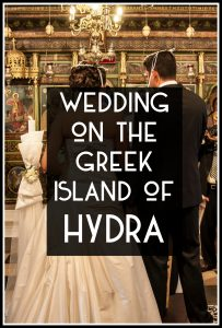 Greek Island Wedding Hydra