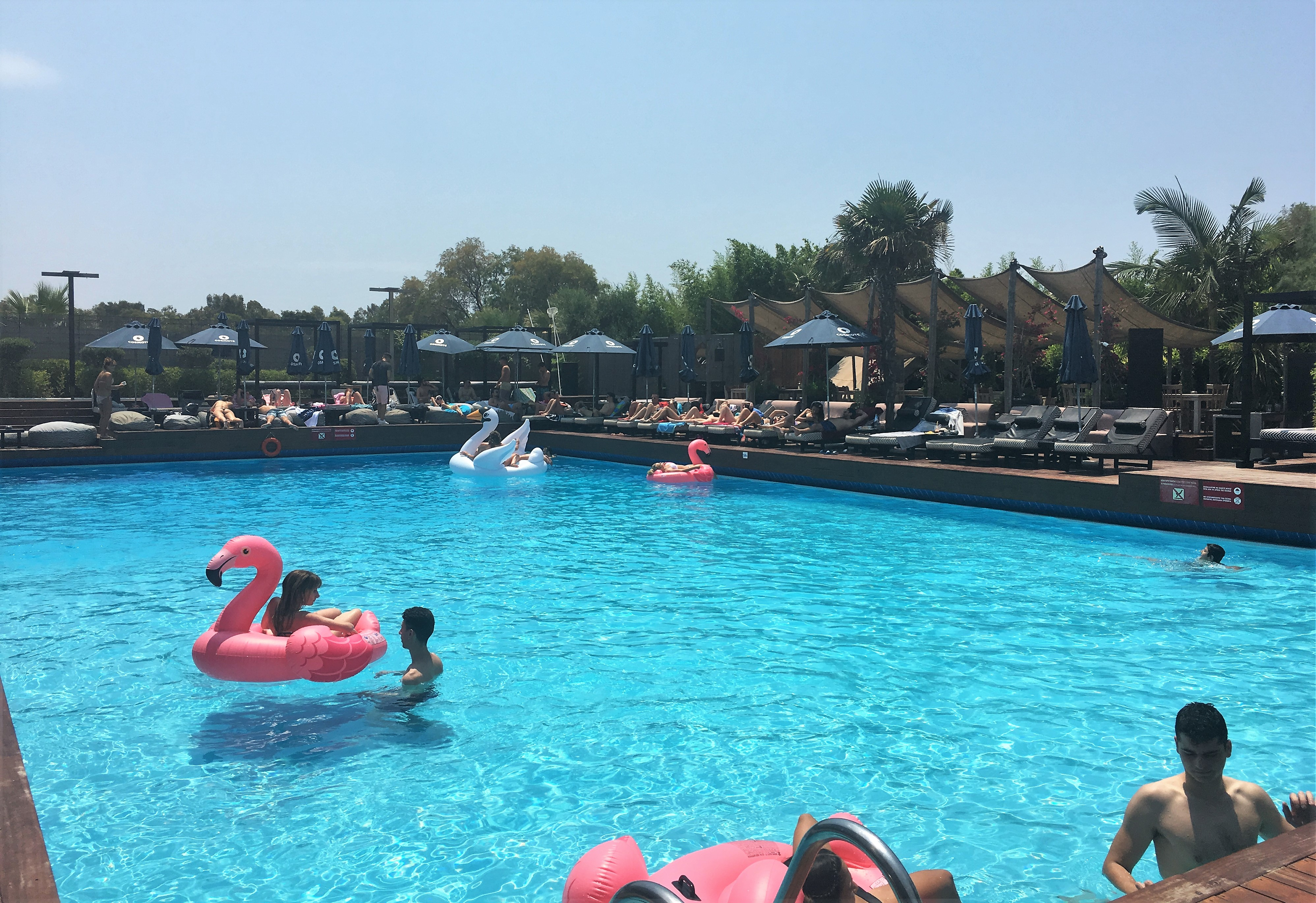 Balux Seaside Pool Beach And Full Restaurant In Glyfada Athens Coast