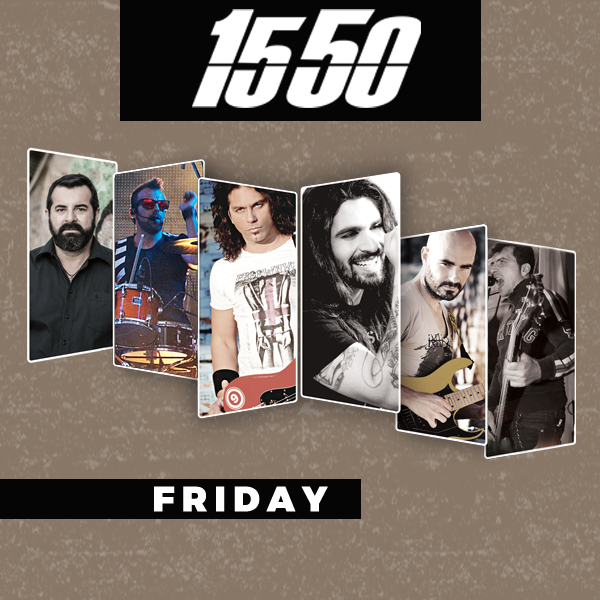 1550 live at Bourbon in Glyfada