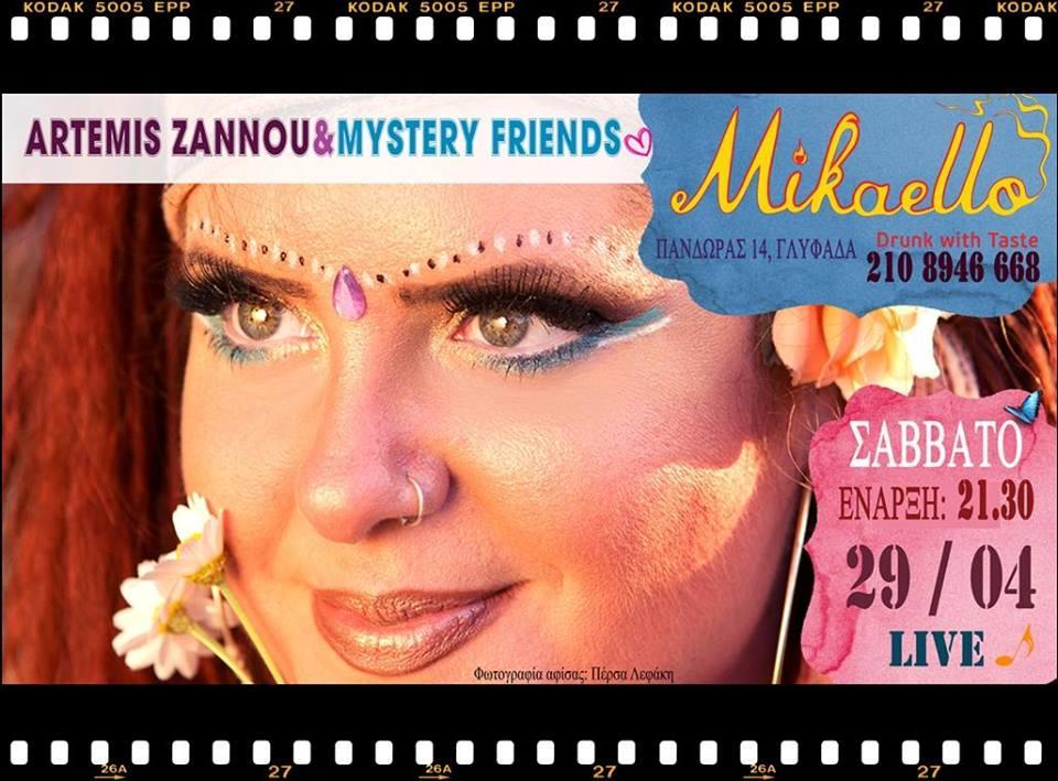 Artemis Zannou&Mystery Friends
