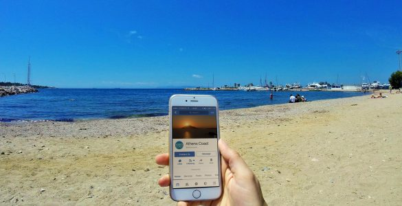 Use Athens Coast Social Media to help you plan your time on the Coast | Athens, Greece