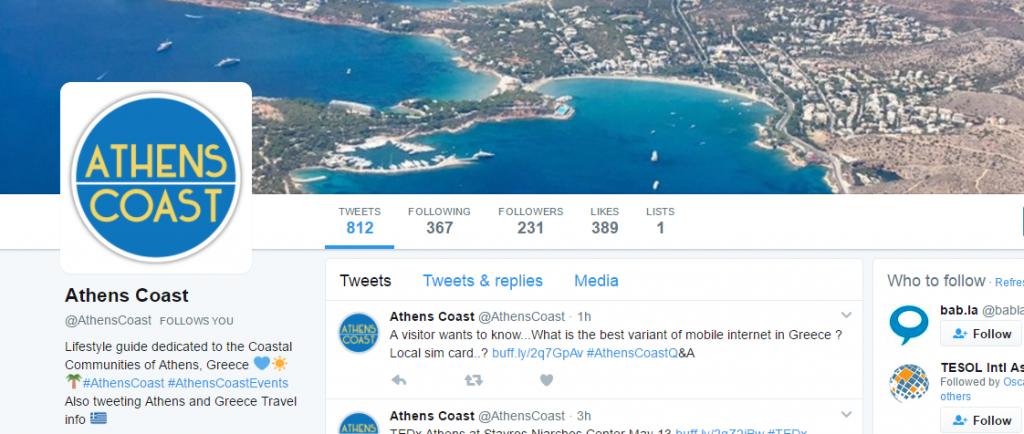 Athens Coast Twitter