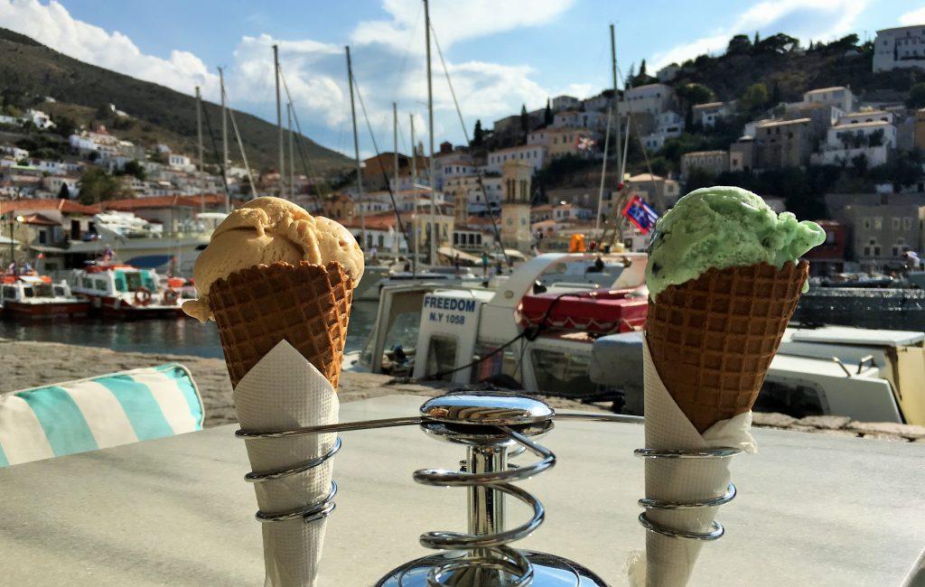 Cool Mule Hydra Ice Cream cones