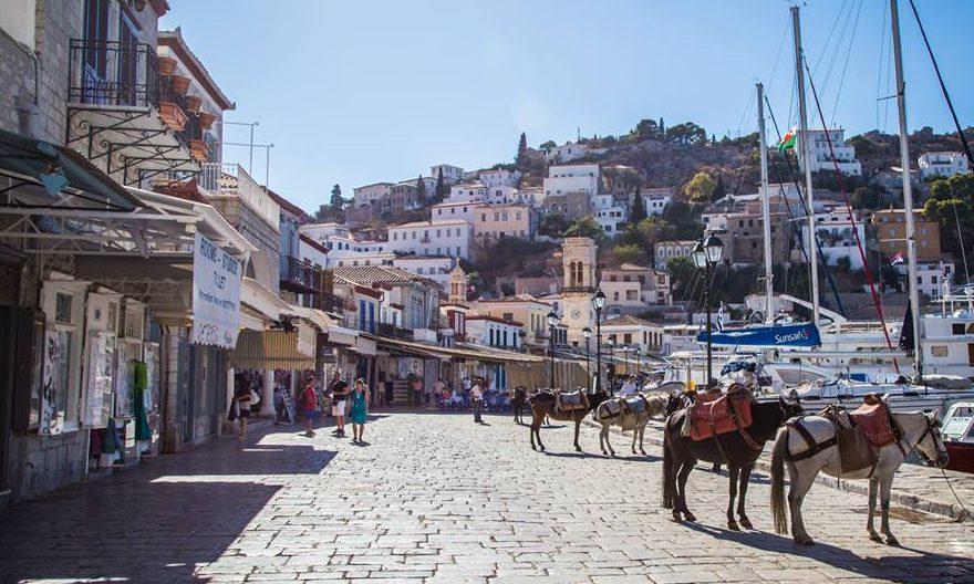 Hydra Donkeys Greece