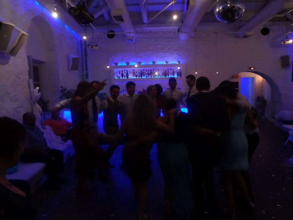 Omilos Wedding Dancing