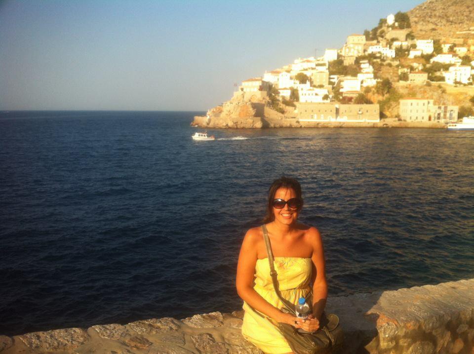 Hydra Island Greece Sunset