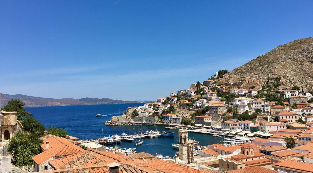 View from Lazaros Koundouriotis Mansion in Hydra