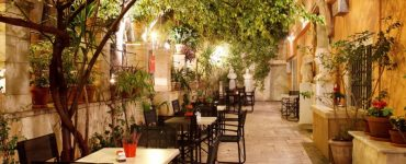 Athens Courtyard Bars Cafes
