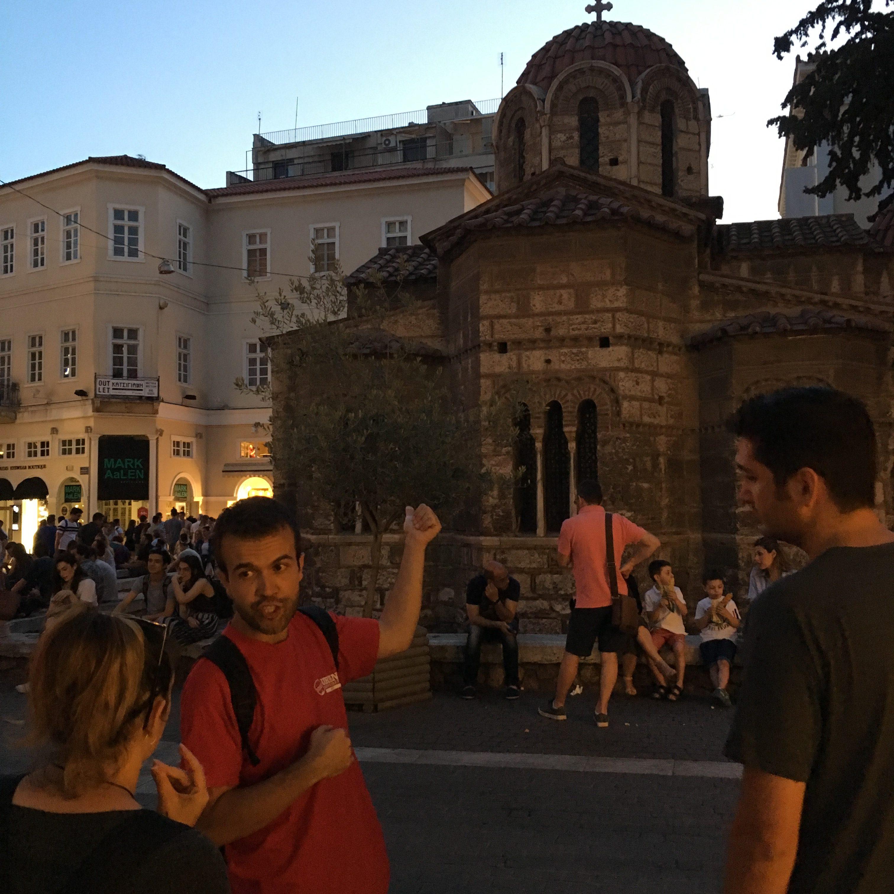 Athens Street Tour Urban Adventures