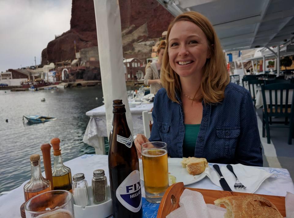Dimitris Ammoudi Restaurant Santorini