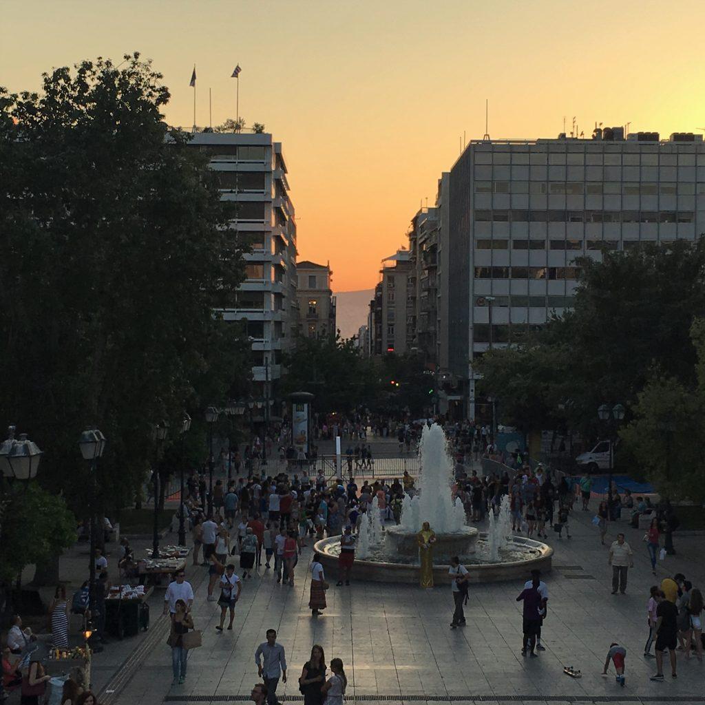 Syntagma Sunset Athens Center