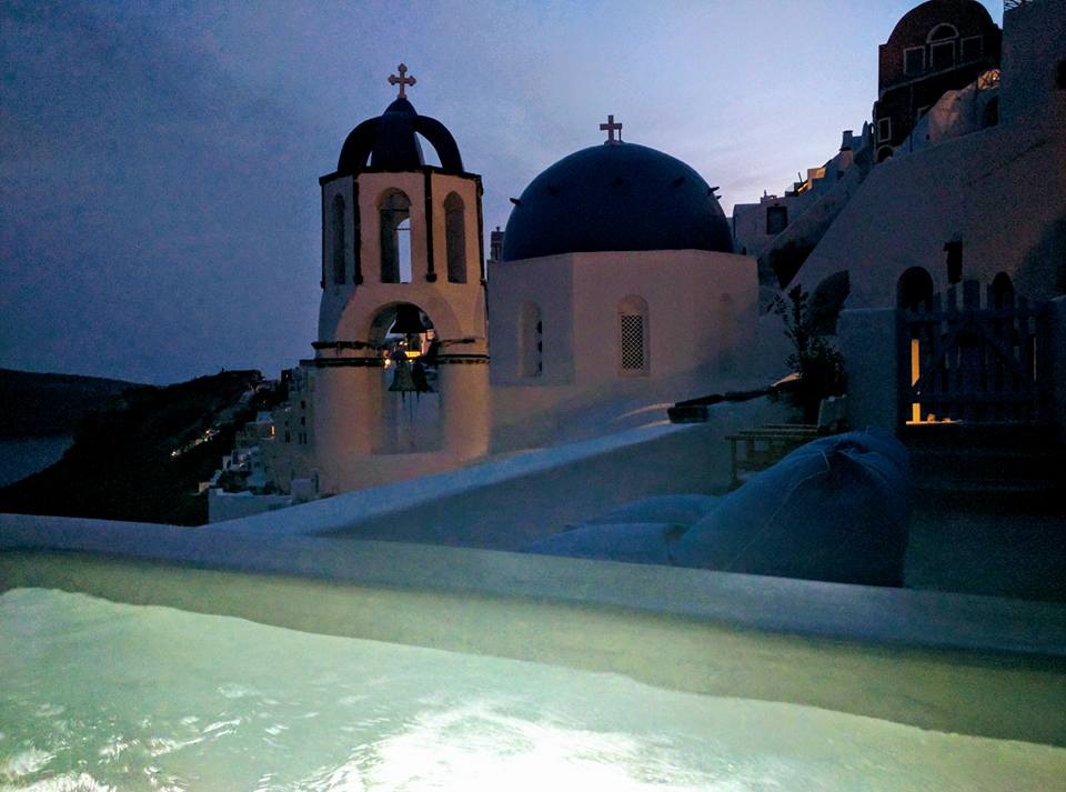 jacuzzi Santorini OIa